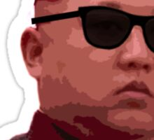 Kim Jong-un new haircut North Korea supreme leader Sticker