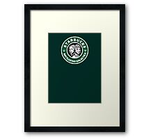 Starbucks BSG Framed Print