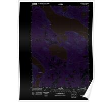Maine USGS Historical Map Mud Pond 20110910 TM Inversion Poster