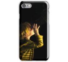 Young astronomer iPhone Case/Skin