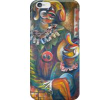 """Red Button Cartoon """"Best Friends"""" Marcus and Me iPhone Case/Skin"""