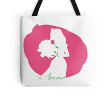 Aurora Sleping Beauty silhouette Tote Bag