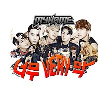 MYNAME Too very much 너무 Very막 Kpop by dubukat