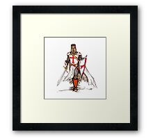 Templar Knight Framed Print