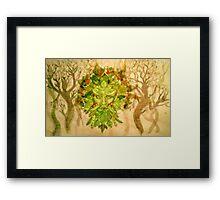 Green Man Framed Print