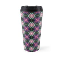 Starry quilt pattern Travel Mug