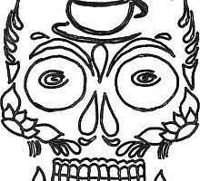 Black Skull by Niki Jacob