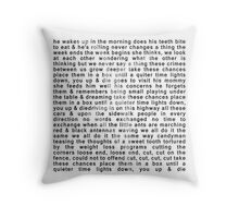 DMB- Ants Marching Throw Pillow