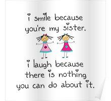 Sister Smile Poster