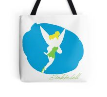 Tinkerbell silhouette Tote Bag
