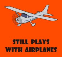 Plays With Airplanes Kids Clothes