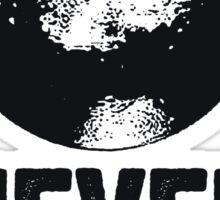 Pluto Never Forget Sticker