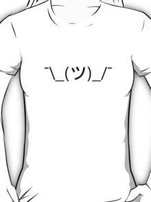 Shrug emoticon ¯\_(ツ)_/¯ T-Shirt