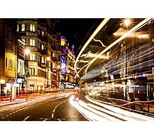 Bright lights of London Photographic Print