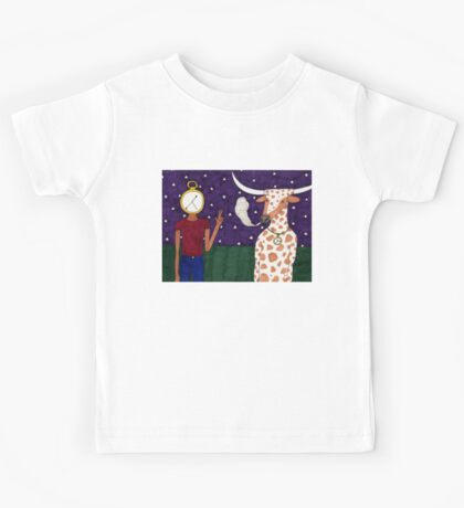 Meanwhile, back on the ranch... IV Kids Tee