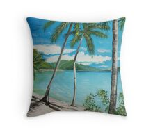 Paradise, Australia Throw Pillow