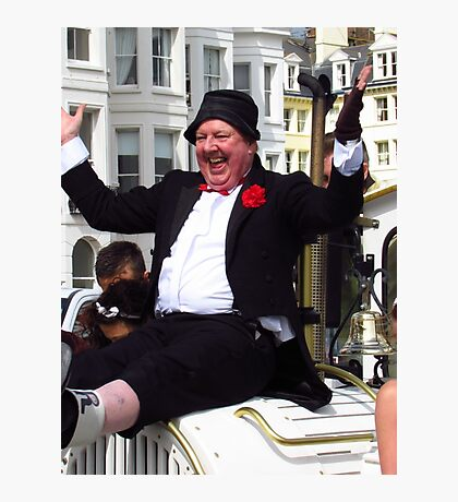 Funny Man Jimmy Cricket Photographic Print