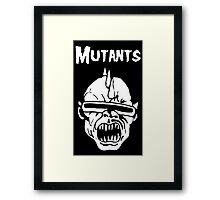 Mutants Fiend Club Framed Print