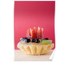 Fruit Pastry Poster