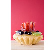Fruit Pastry Photographic Print