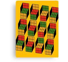 Sheldon Cooper's Rubik's Mash. Canvas Print