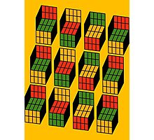 Sheldon Cooper's Rubik's Mash. Photographic Print