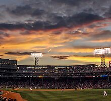 Fenway Sunset by don thomas