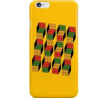 Sheldon Cooper's Rubik's Mash. iPhone Case/Skin