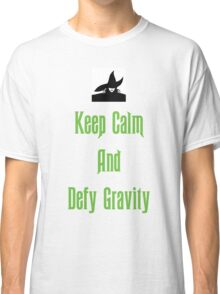 Defying Gravity - Wicked Classic T-Shirt