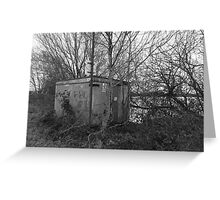 Abandoned Building Greeting Card
