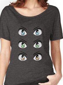 Colorful Male Eyes 7 Women's Relaxed Fit T-Shirt