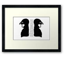 Birdman or The Unexpected Virtue of Innocence Framed Print