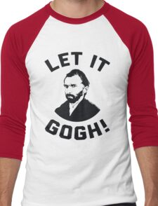 Let It Gogh Men's Baseball ¾ T-Shirt