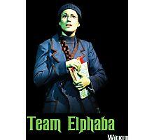 Team Elphaba - Wicked  Photographic Print