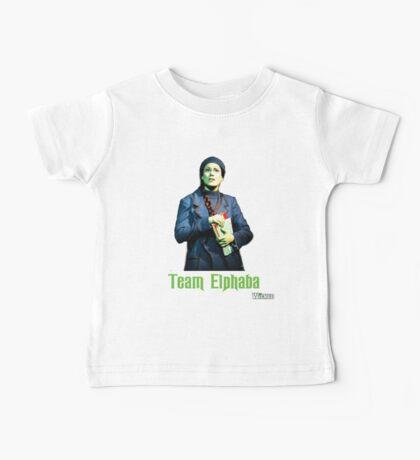 Team Elphaba - Wicked  Baby Tee