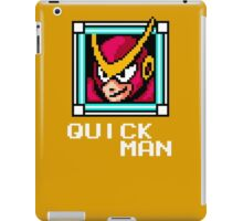 Quick Man iPad Case/Skin