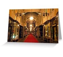 London - Burlington Arcade Greeting Card