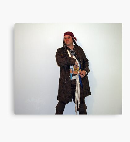 Captain Jeff Sparrow Canvas Print