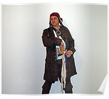 Captain Jeff Sparrow Poster