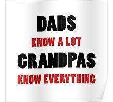 Grandpa Knows Everything Poster