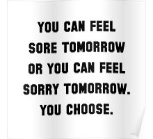 Sore Or Sorry Poster