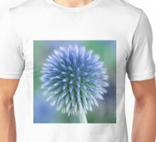 Blue Globe Thistle Unisex T-Shirt