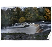 Autumn Falls HDR Poster