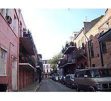 French Quarter Streetscape Photographic Print