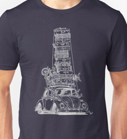Stack Yo Rack ...white ink Unisex T-Shirt