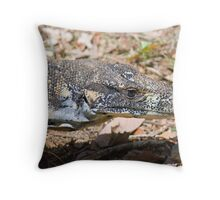 Goanna, Dorrigo National Park, NSW, Australia Throw Pillow