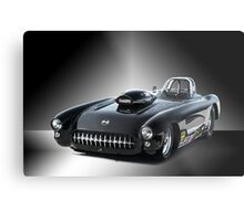 1957 Corvette 'Competition Style' Metal Print