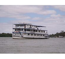 River cruising. Photographic Print