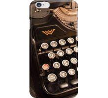Old typewriter iPhone Case/Skin