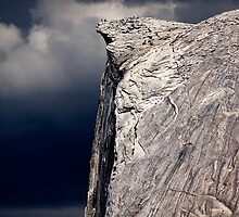 Climbers On Half Dome 2 by Alex Preiss